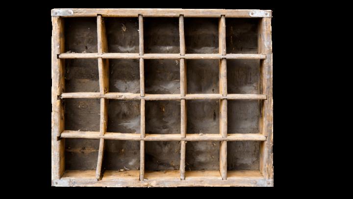 Fächerboxen als ideale Ordnungssysteme